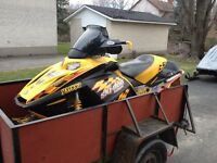 2004 SKIDOO REV 600 SDI COMPLETE PART OUT
