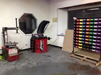 Mount and Balance tire service