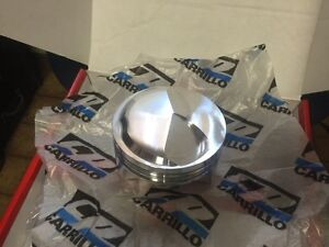 "BBC Carrillo Forged Pistons 4.56"" Bore CP Bullet Big Block Chevy"