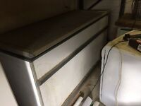 Large commercial freezer