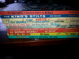 Dr Seuss large storybooks