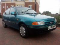 Vauxhall Astra Ethos (blue) 1994
