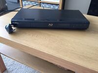 Blueray DVD player Sony