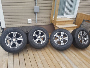 Brand New! OEM Chevy Colorado Wheels & Tires