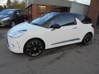 Citroen DS3 Cabrio 1.6 DStyle Plus. From £153.99 per month.