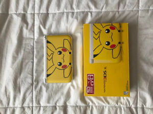 Limited Edition Pikachu 3DS XL - WITH GAMES