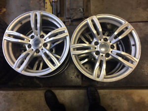 MAGS 17'' BMW 5X120  $300.00 LES 4------------------------------