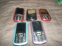 CELL PHONES ASSORTED MODELS ALL WORK