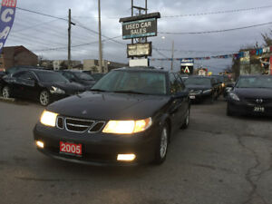 *CERTIFIED*2YRS WARRANTY*2005 Saab 9-5 Arc Man Sedan