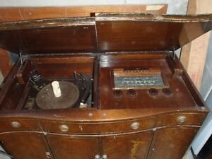 Antique console radio/record player for sale