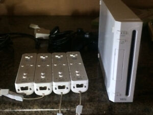 Nintendo Wii with 24 games included