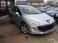2008(58) Peugeot 308 1.6HDI (110bhp) FAP 6sp Sport (Finance Available)