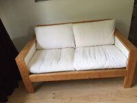 White IKEA Sofa
