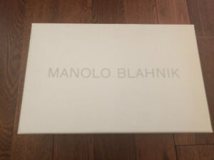 Brand New! - never been worn MANOLO BLAHNIK pumps.  Size 7.5