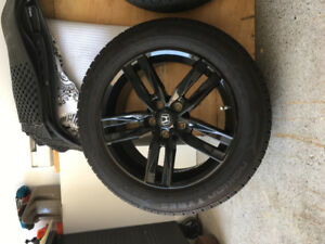 Honda CR-V Nokian summer tires 225/60r18 with tpms