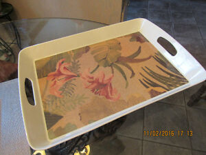 Like New Metal Serving Tray West Island Greater Montréal image 1