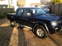 Mitsubishi l200 Trojan pick up 07 plate one owner full leather