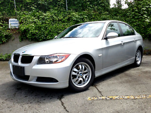 2007 BMW 323 for sale with spare rims/tires