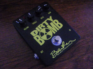 BARBER BOUTIQUE OVERDRIVE / DISTORTION FOR TRADE