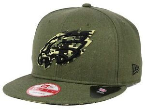 Brand new Philadelphia Eagles Camo New Era Hat Cap Snapback