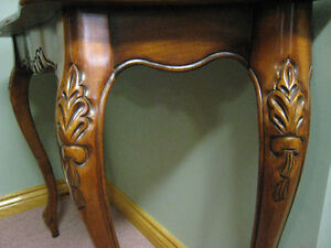 Ornate / Accent Solid Wood Table