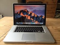 "MacBook Pro 15"" / 2.5GHz Intel iCore7 / 8GB Ram/ 750GB Hard Drive!! / late 2011"