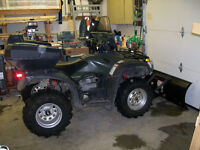 2006  Honda Rubicon Canadian Trail Edition GPScape with Plow