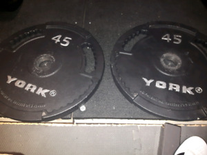 45lbs plates
