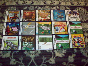 14 NINTENDO DS GAMES. ALL IN GREAT CONDITION.