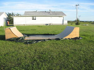 Reduced Half pipe