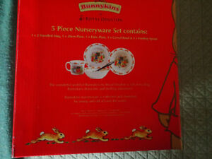 Bunnykins 5 Piece Nurseryware Set