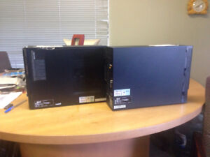 2 Acer Desktop computers with Windows10 upgraded from Windows 7