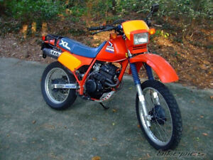 Looking for frame for Honda 85-87 XL250R