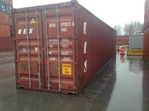 Sea Containers 20' and 40' used for sale