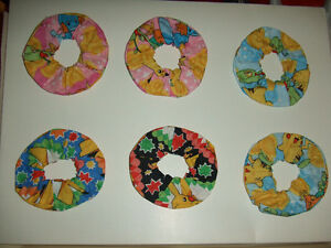 Pokemon Scrunchie $8 each Handmade Assorted Colour Buy more&save
