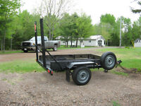 "Utility Trailer , ""4 Wheeler or Lawn tractor"""