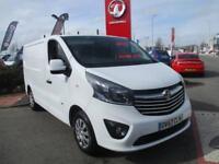 2017 Vauxhall Vivaro L1h1 Vivaro Sportive 1.6cdti 120 2.7t Panel Van