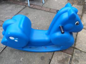 Step2, Rocking Horse, Blue, VGC
