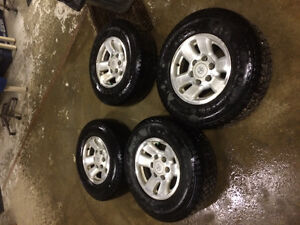 Tacoma or 4Runner rims and tires