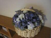 Hand Crafted Silk Flower Baskets for Sale
