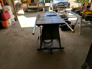 Industrial delta table saw