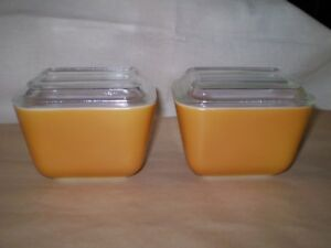 Pyrex Refrigerator Dishes---Two