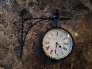Antique Doubled sided Clock