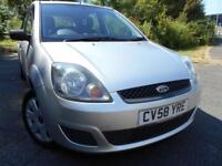 2008 58 FORD FIESTA 1.2 STYLE 16V 5D 78 BHP**LOW MILEAGE**LOW INSURANCE**LOVELY