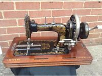 Antique German Sewing Machine - Frister & Rossman