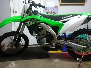 2017 Kawasaki KX250F $8100 Firm not a dealer