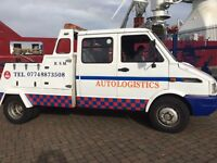 R.S.M. AUTO LOGISTICS VAN & CAR BREAKDOWN TRANSPORT// 24HOUR RECOVERY//