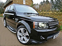 2012 RANGE ROVER SPORT 3.0 SDV6 HSE AUTO WITH LUXURY PACK. LOADED TOP SPEC !!