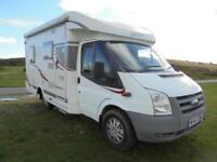 HYMER CARADO T135, 3 BERTH, LOW PROFILE, 4 SEAT BELTS, FIXED BED, EXCELLENT