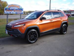 2016 JEEP CHEROKEE***TRAILHAWK***LOADED***4X4***OFF ROAD***